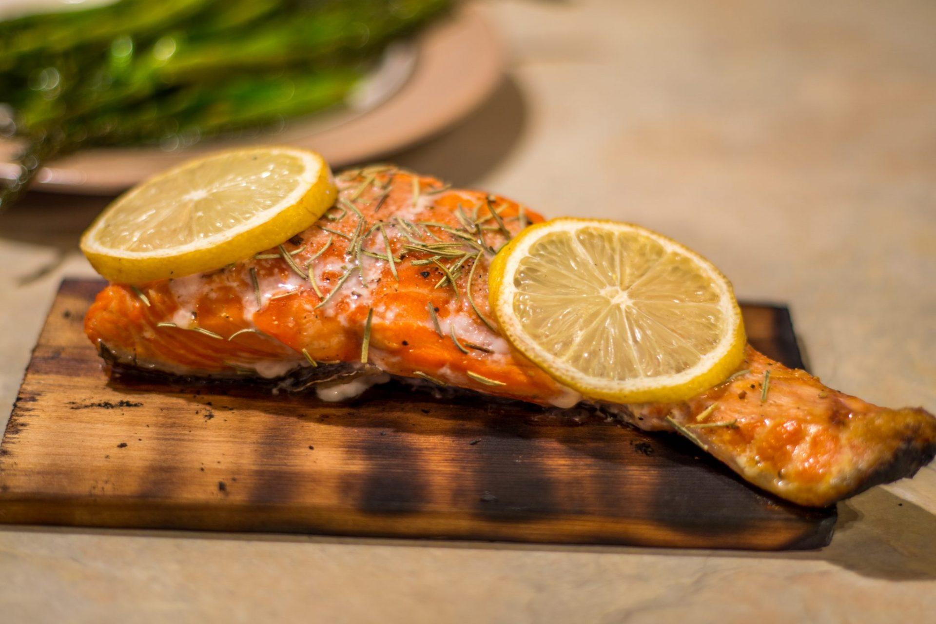 Cedar Grilled Salmon -2