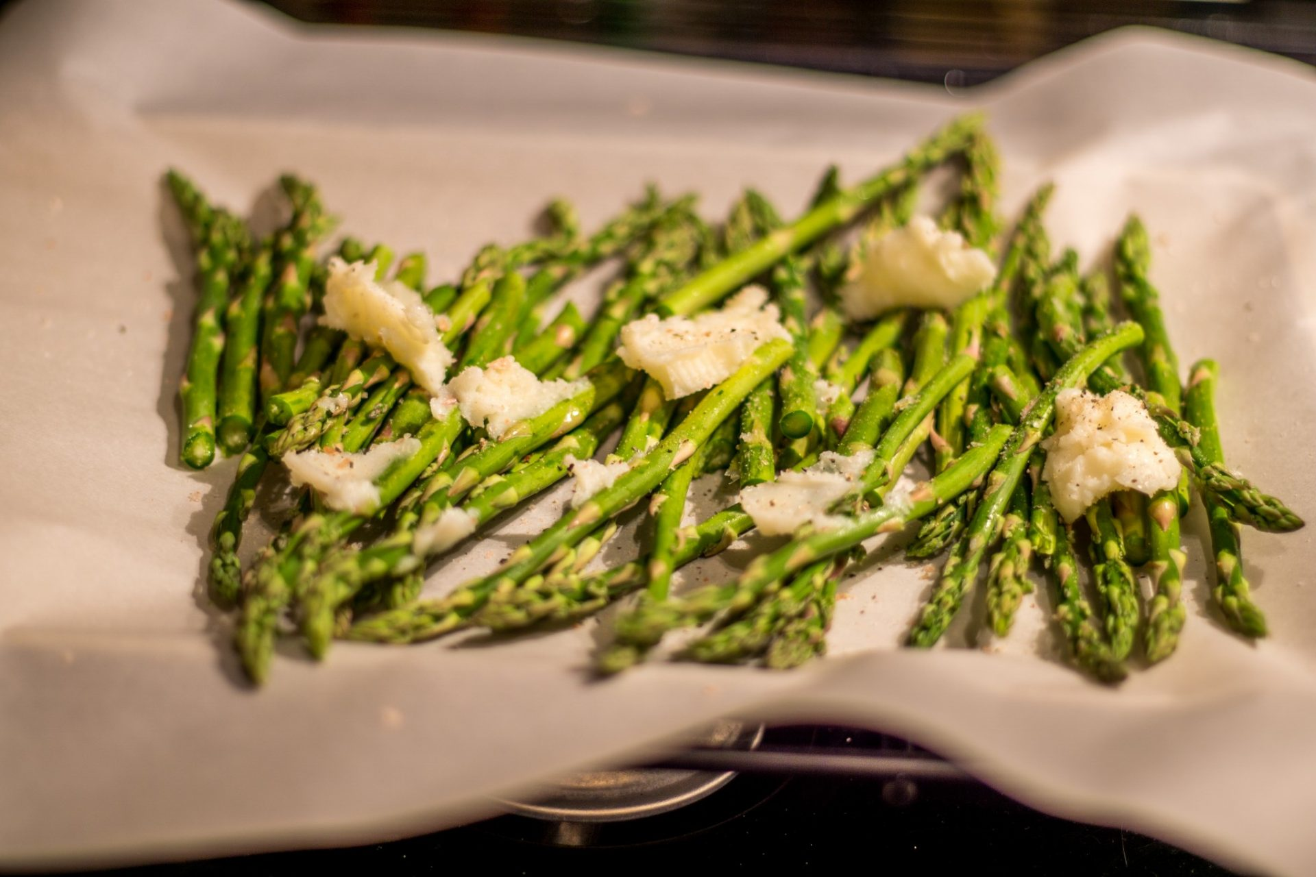 roasted asparagus pan