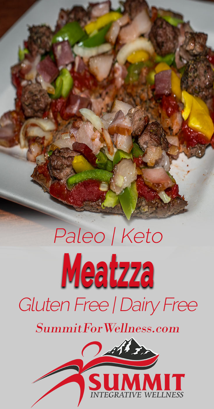 Meatzza, the delicious pizza made out of meat!