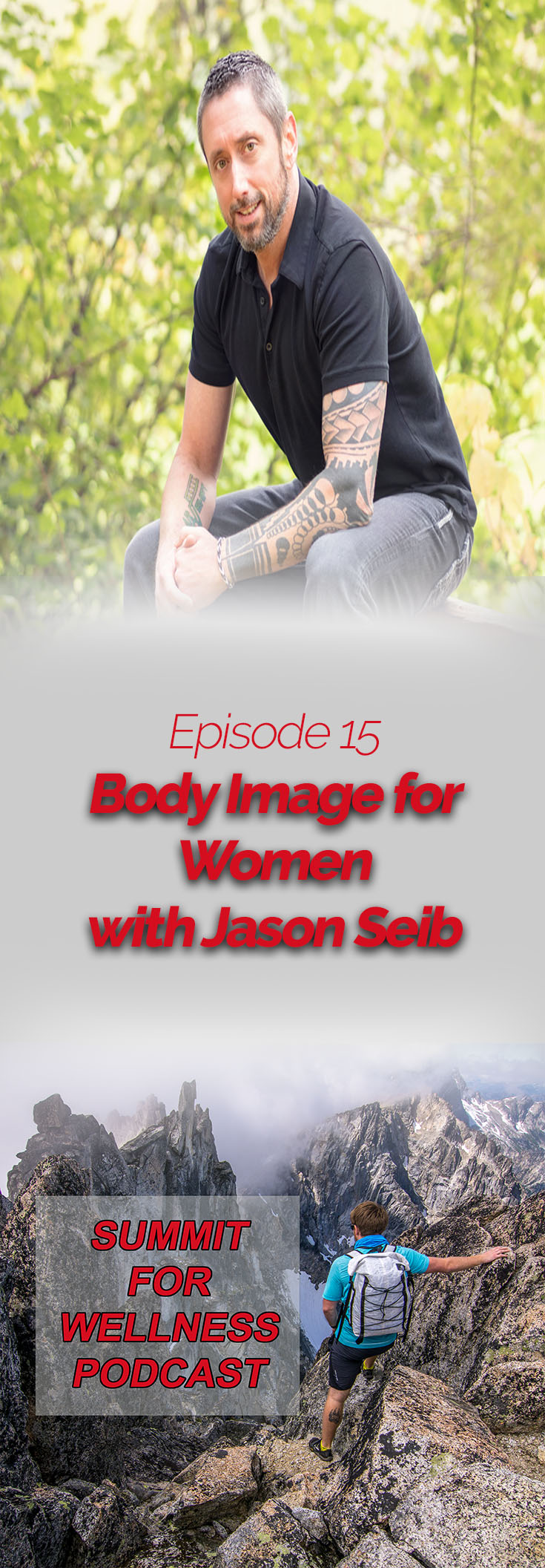 Join Jason Seib as he discusses some cultural body image issues he has seen with his female client base.