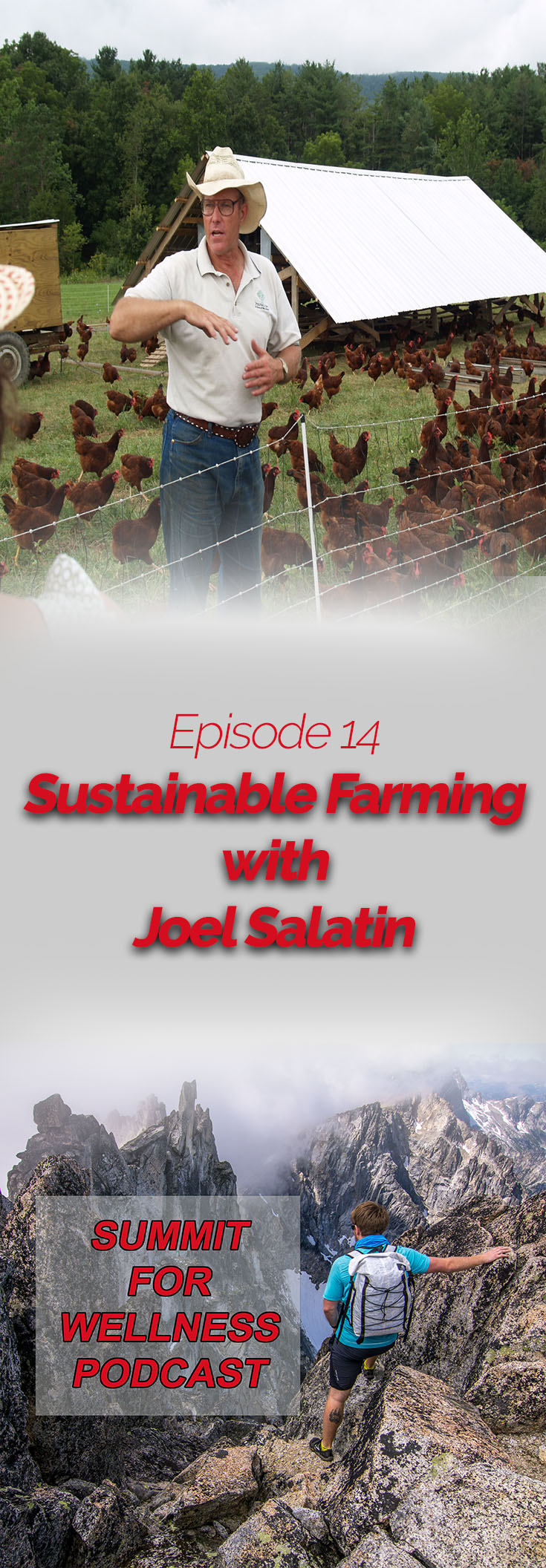 Join Joel Salatin as he provides ways to improve farming methods of animals.