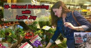 Lydia Joy discusses why minerals are so important to the overall workings of the body.
