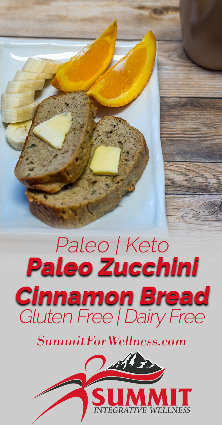 Learn how to make a healthy paleo version of zucchini bread