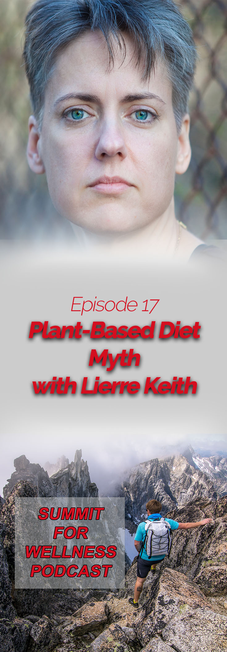 Lierre Keith talks about her 20 year stint as a vegan and how it destroyed her health.