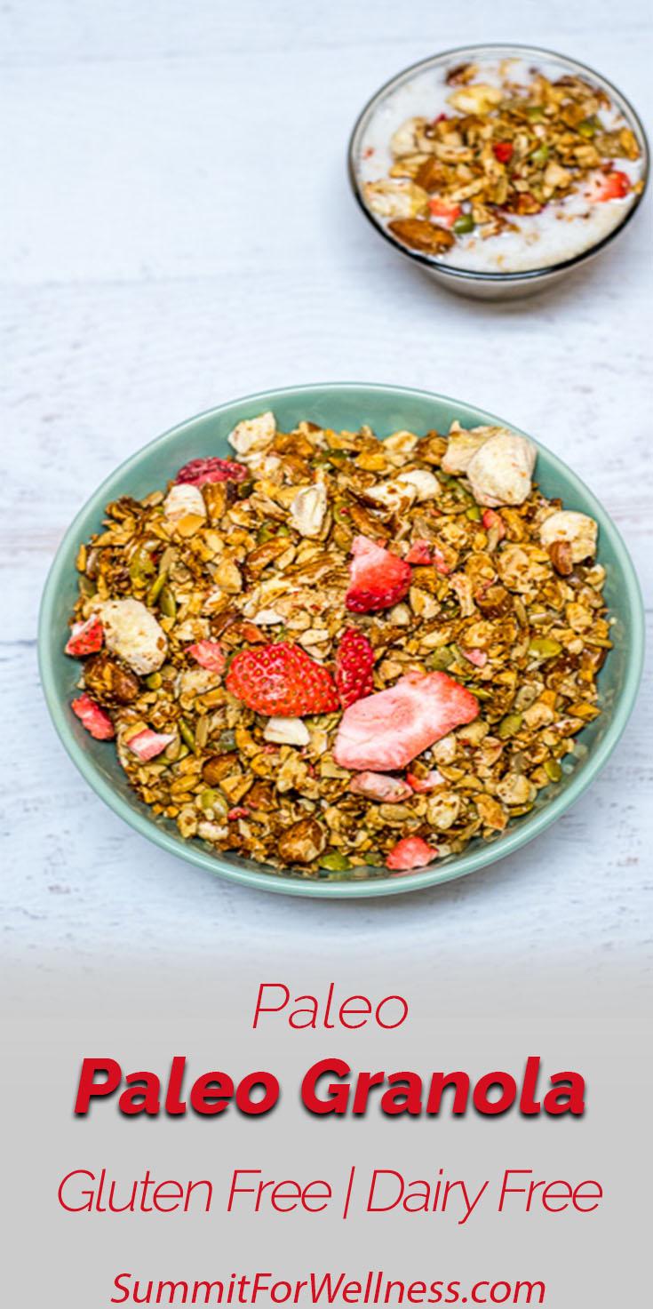 Paleo Granola Grain-Free, Gluten-Free, and Delicious