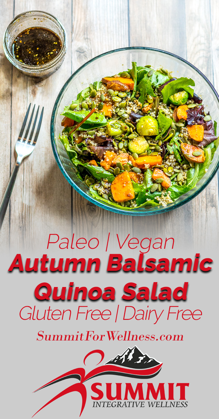 Autumn Balsamic Quinoa Salad Pinterest