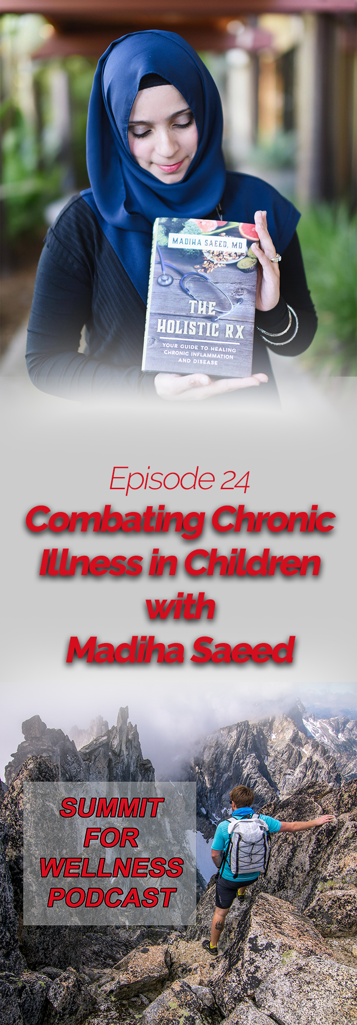 Listen to Madiha Saeed talk about how she teaches children about food and how food can be healing to the body