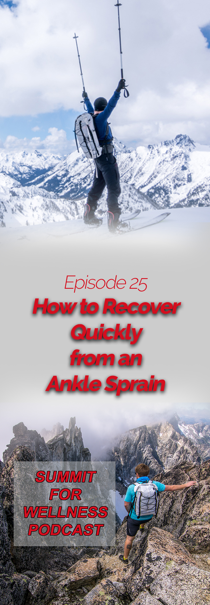 Learn how to recover from ankle sprains in under a week