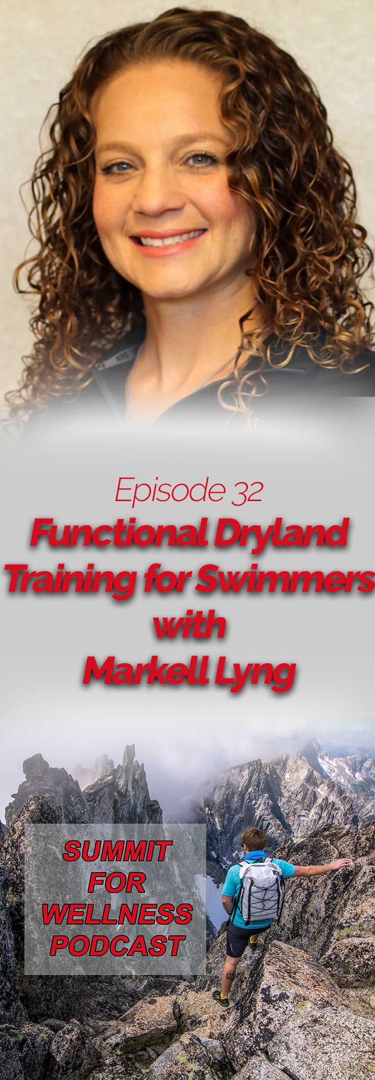 Markell Lyng discusses ways to improve dryland training for swimmers