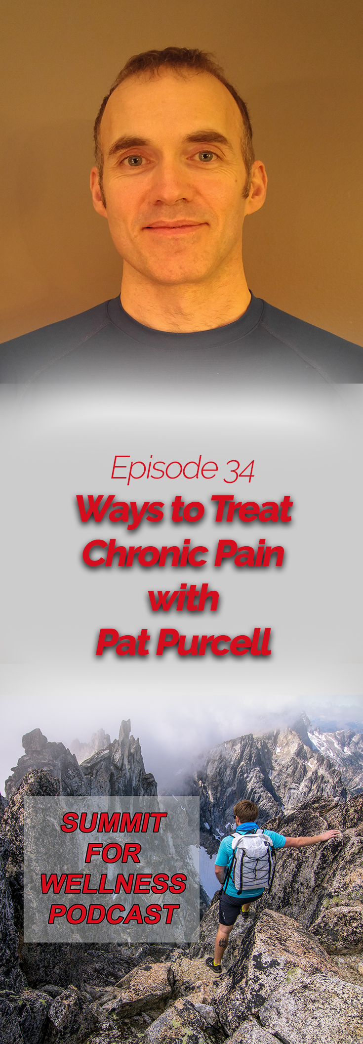 Pat Purcell walks us through ways to help those suffering from chronic pain, and ways to find movement patterns that work for their body.