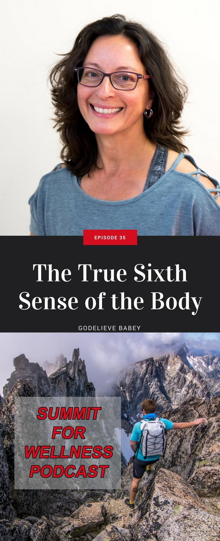 In this episode with Godelieve Babey, we discuss the proprioceptors and how the nervous system plays a role in our movement capabilities