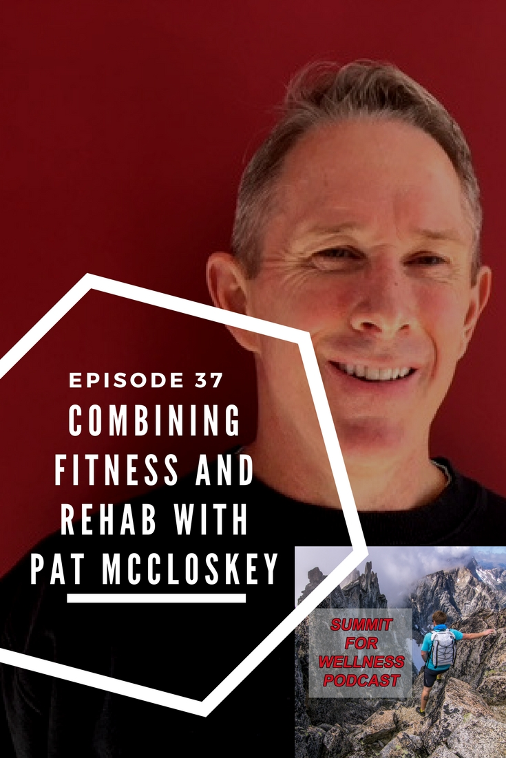 Pat McCloskey discusses how he integrates movement-based exercises into his training protocols and how it can become a rehab process.