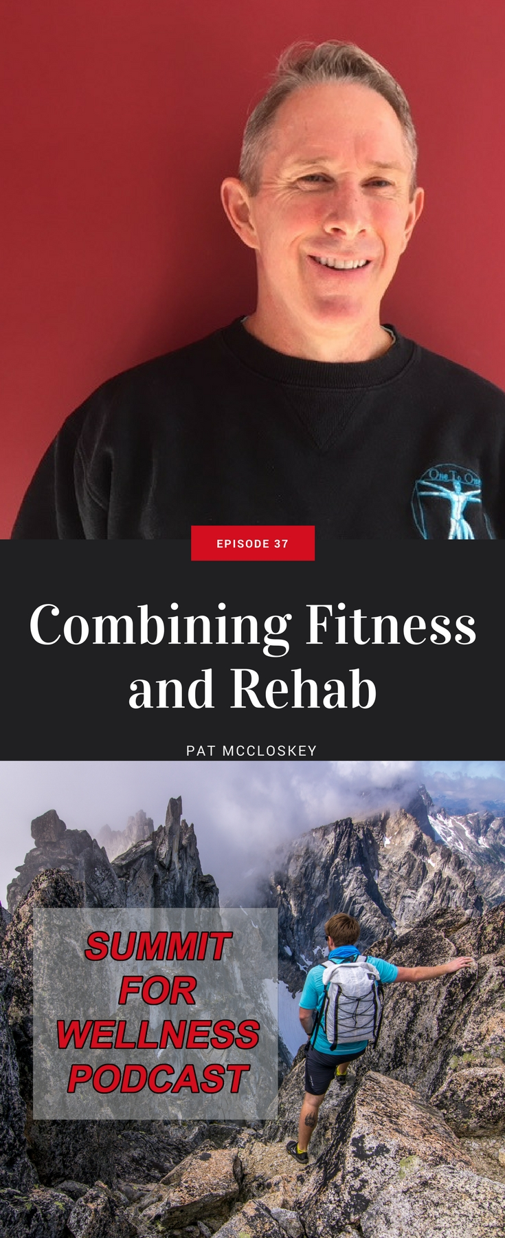 Pat McCloskey discusses how he integrates movement-based exercises into his training protocols and how it can become a rehab process