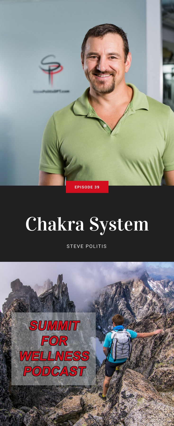 Steve Politis of Kineci Physical Therapy combines rehabilitation services with the Chakra System