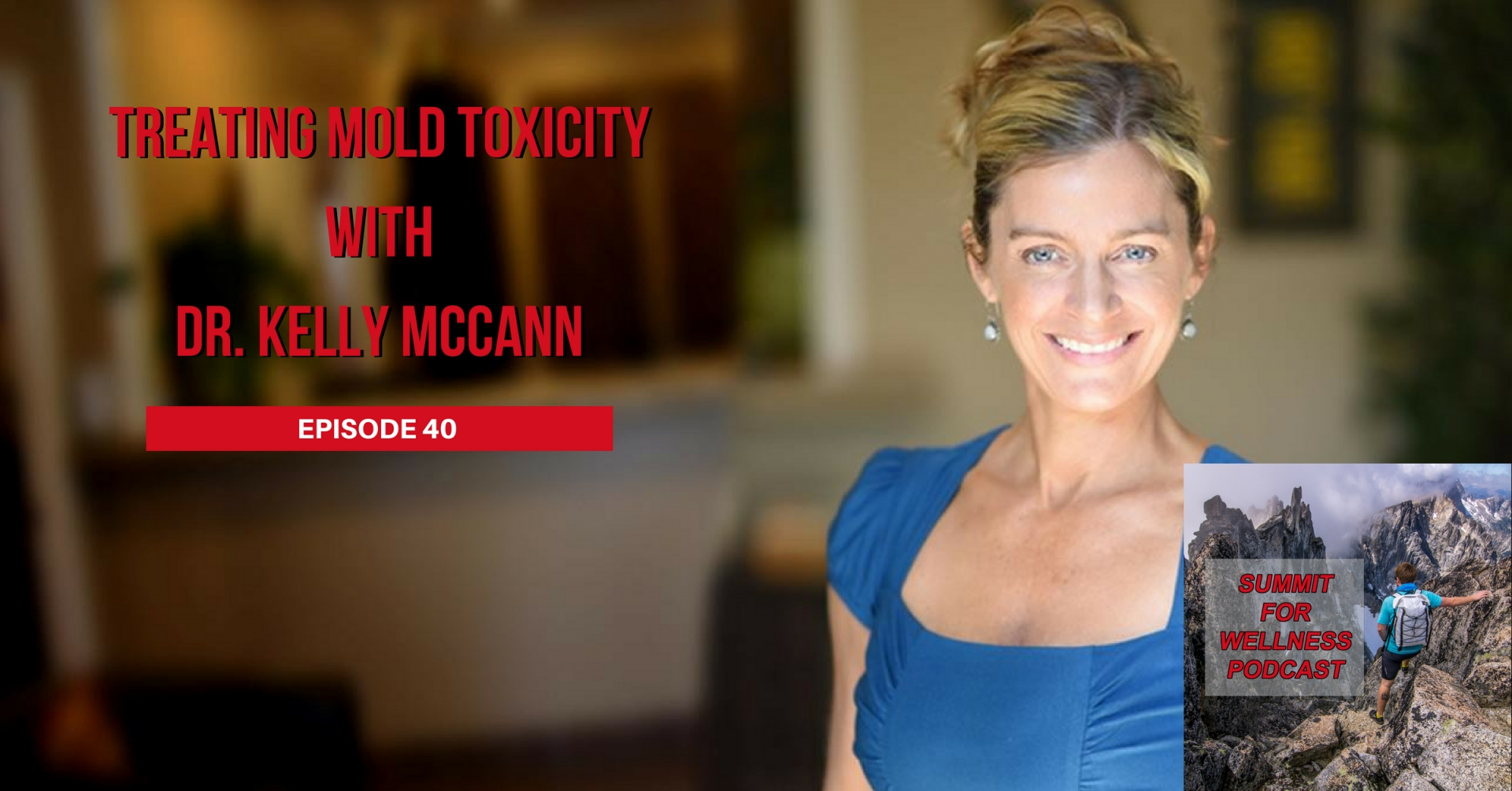 40- Treating Mold Toxicity with Dr. Kelly McCann
