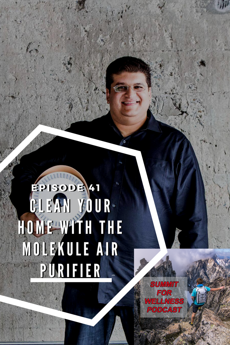 Dilip Goswami talks about the importance of clean air in your home and how the Molekule Air Purifier helps