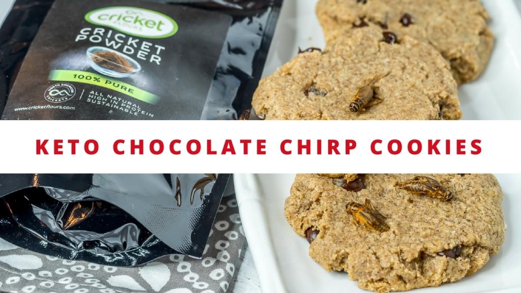 Keto Chocolate Chirp Cookies