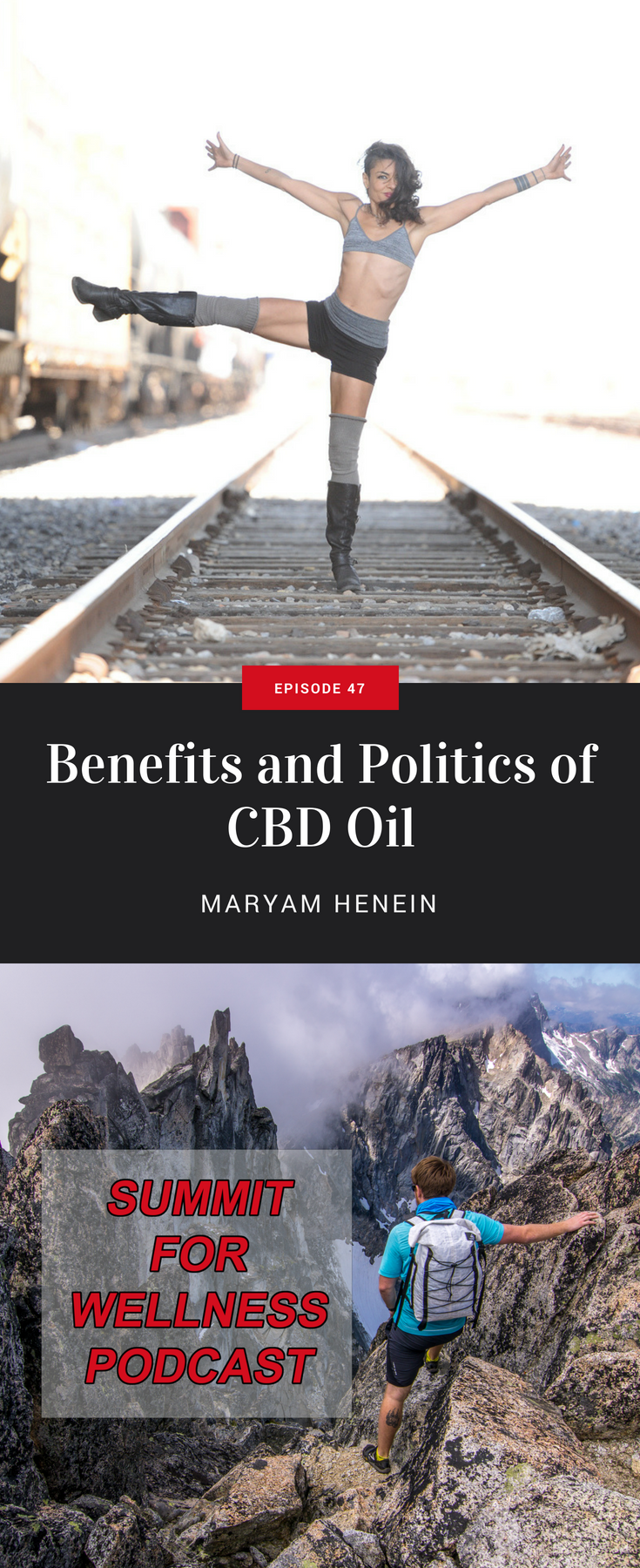 Maryam Henein dives into the benefits of using CBD Oil, and how politics have hurt the CBD Oil Industry