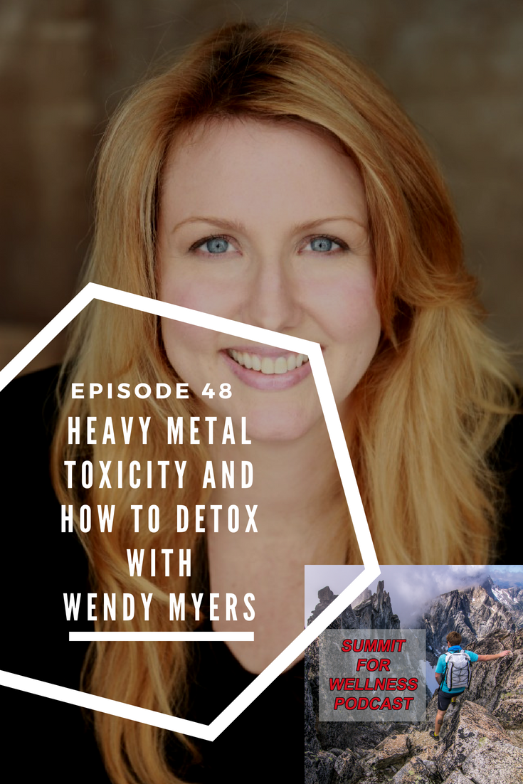 Can Heavy Metal Toxicity be a cause to your health problems? Wendy Myers talks about toxic metals and how to detox them.