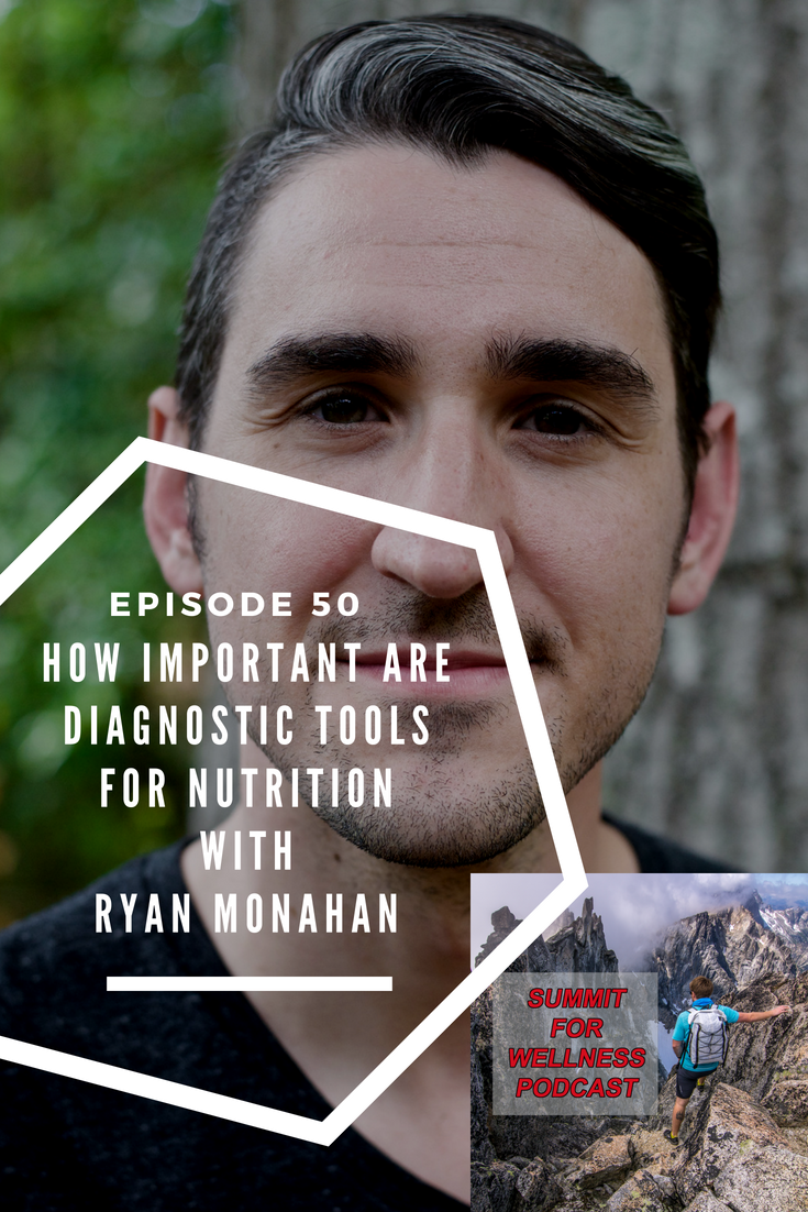 Ryan Monahan talks about the importance of using diagnostic tools in his nutrition practice to discover nutritional deficiencies