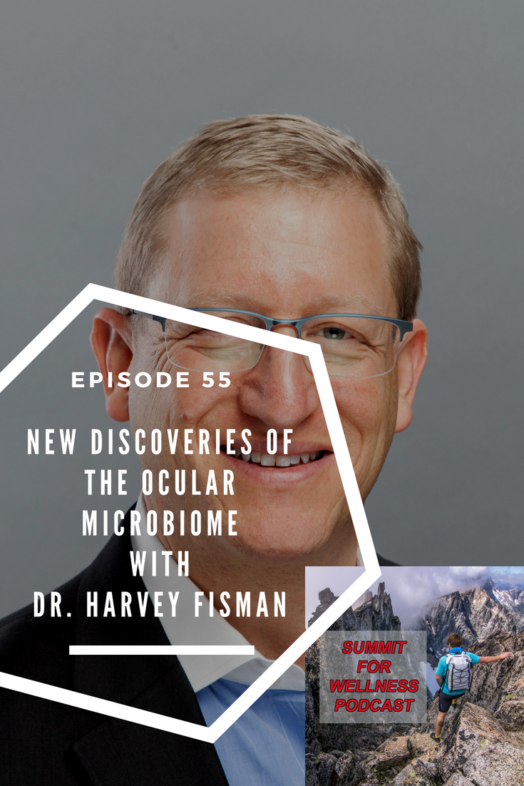 Dr Harvey Fishman has been researching the microbiome of the eyes, and comes on to share his discoveries