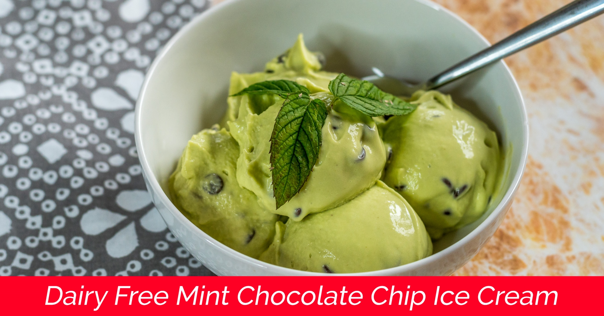 Learn to create Dairy Free Mint Chocolate Chip Ice Cream that is also low carb friendly