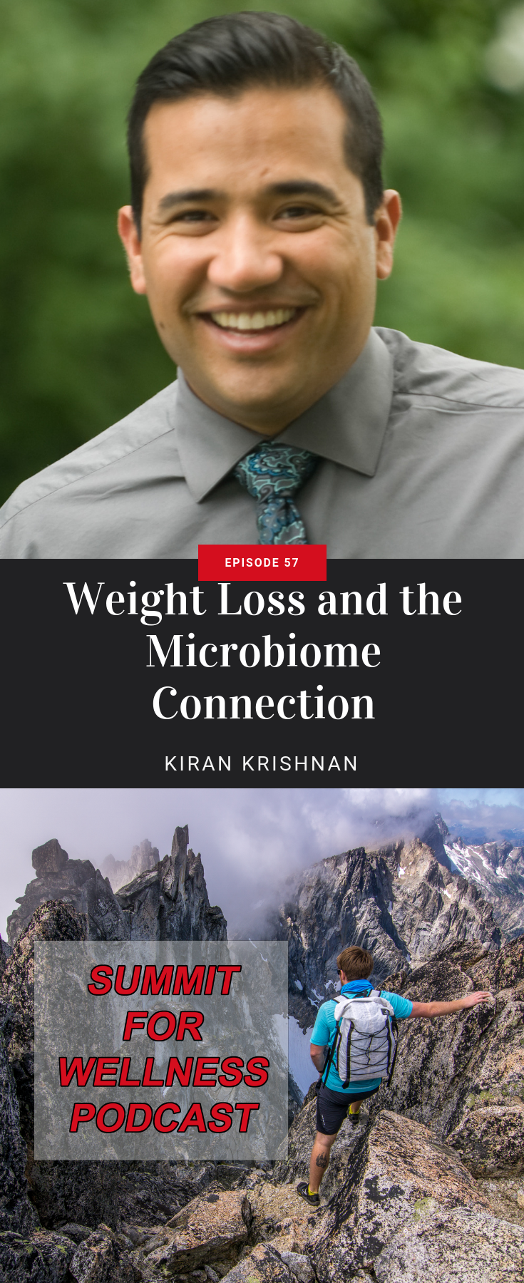 Kiran Krishnan teaches how to optimize the microbiome of the body to lose weight and improve health