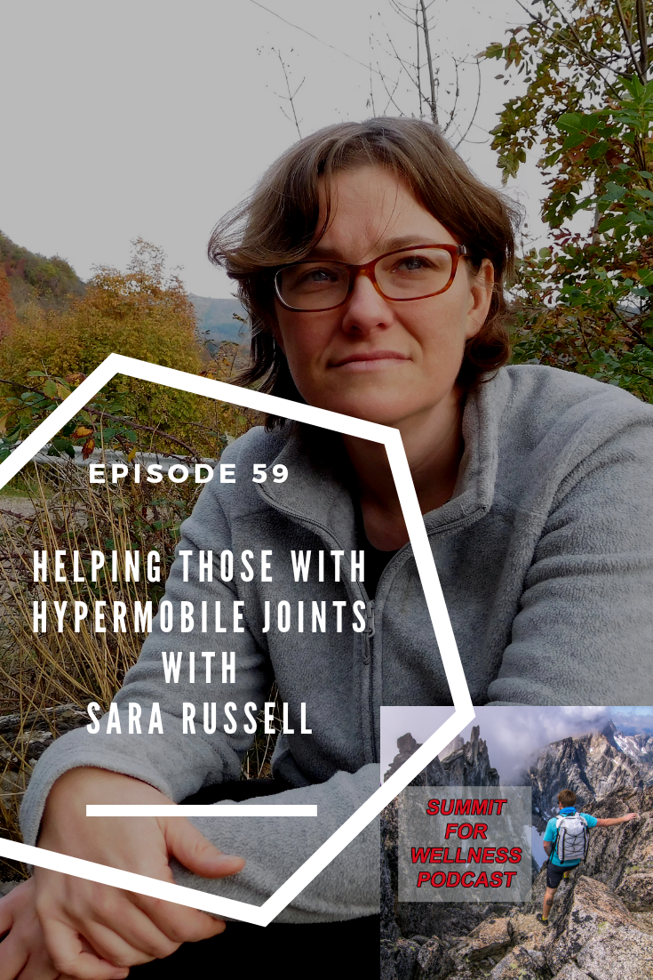 Sara Russell NTP helps those with hypermobility to improve their health