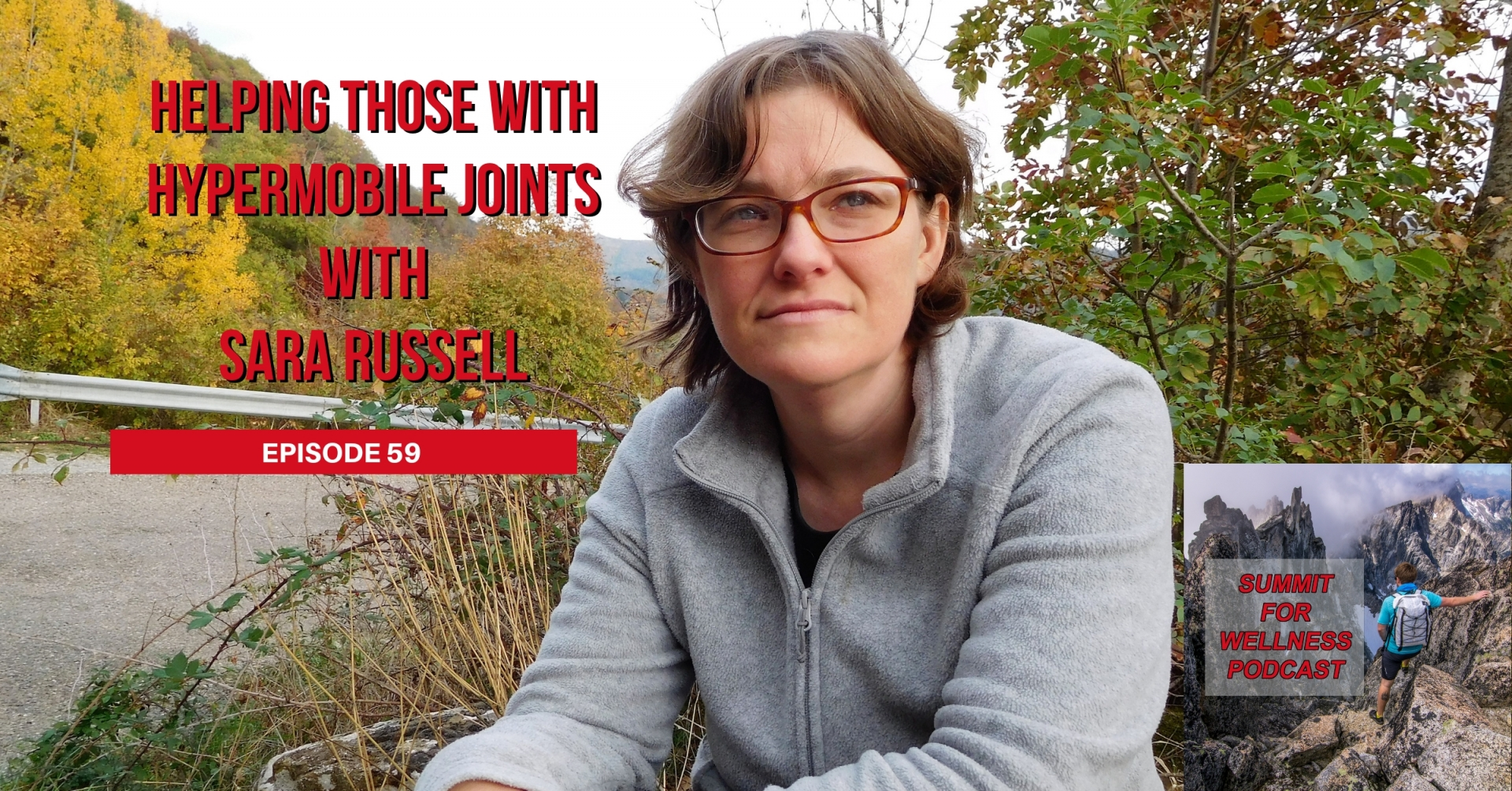 Sara Russell helps those with hypermobile joints to improve their health