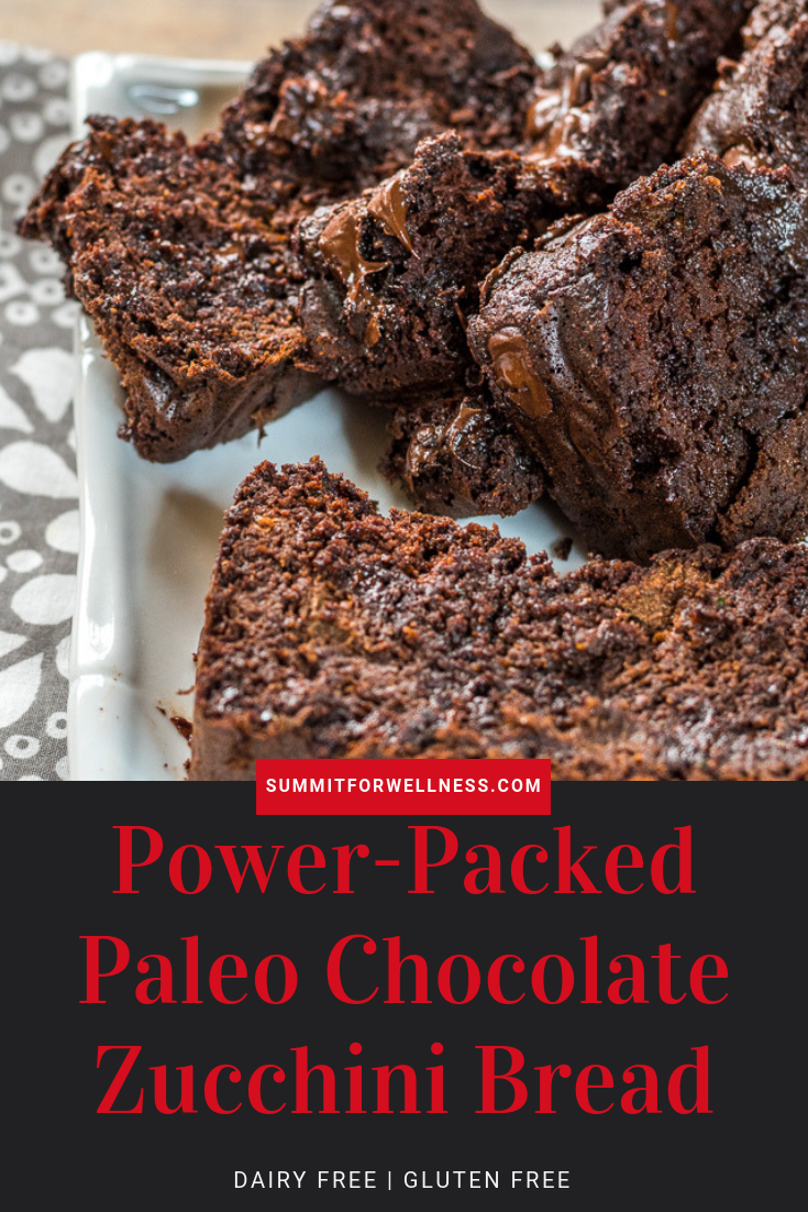 Learn how to whip up the best tasting Power-Packed Paleo Chocolate Zucchini Bread!