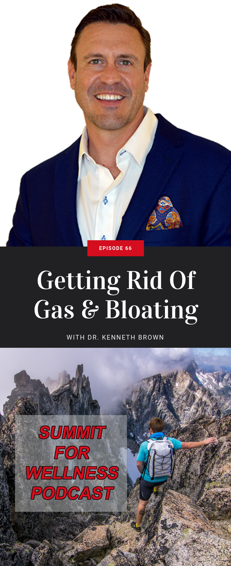 In this episode, Dr. Kenneth Brown dives deep into, more often than not, the uncomfortable conversation of gas and bloating