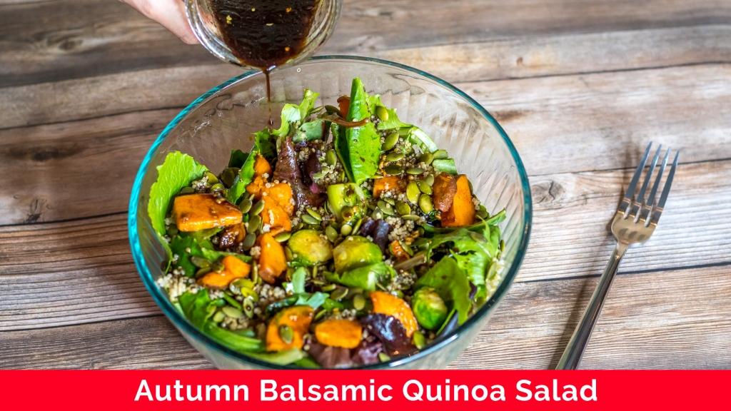 Autumn Balsamic Quinoa Salad