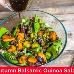 Autumn Balsamic Quinoa Salad