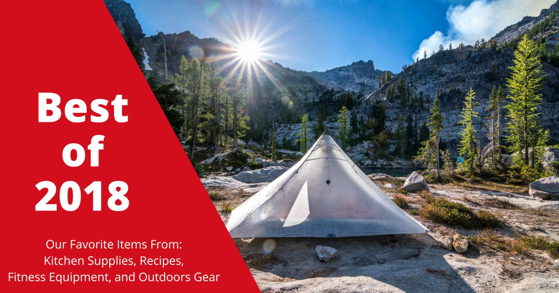 Our Top Picks for Fitness Products, Kitchen Supplies, Recipes, and Outdoors Gear for 2018