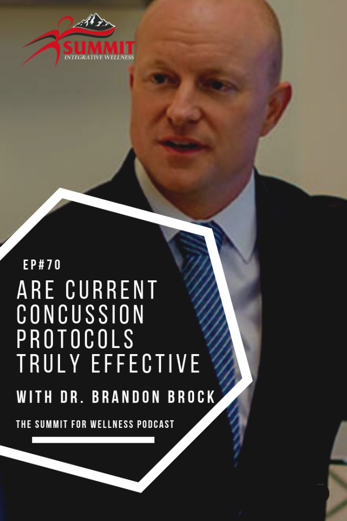 Dr. Brandon Brock talks about how concussions do a lot more to the brain that what rest alone can fix.