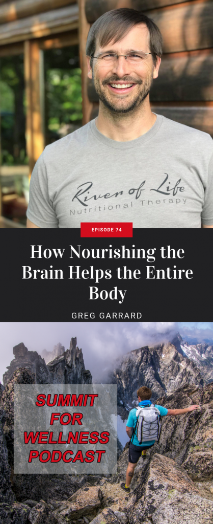 Greg Garrard teaches us how important the brain is as the command center for the health of our body