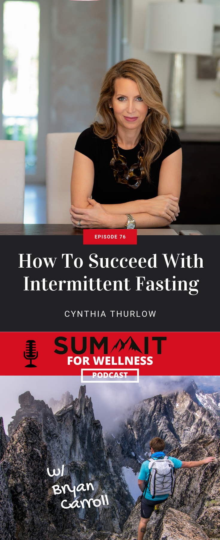 Cynthia Thurlow teaches how to do intermittent fasting, how it is beneficial, and what can cause you to fall out of fasting