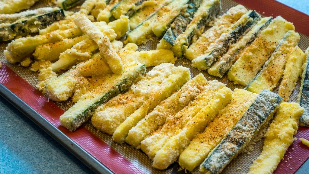Cajun Almond Flour Zucchini Fries-2