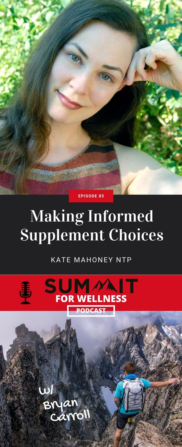 Kate Mahoney NTP helps lift the shade on the supplement industry and teaches us if we even need to use supplements
