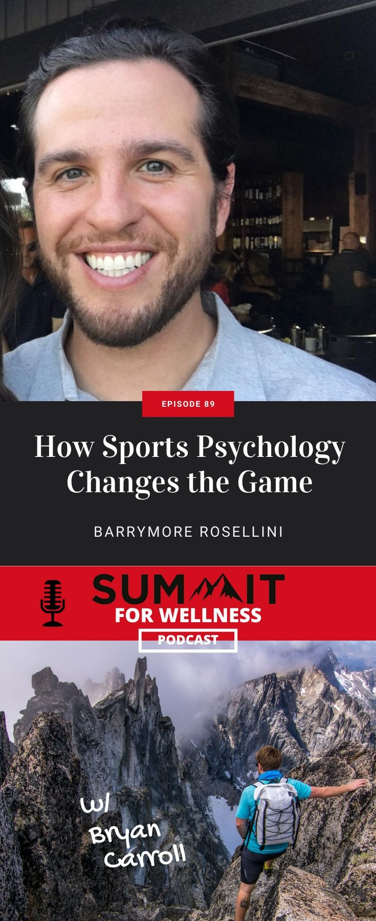 Barrymore Rosellini teaches us how sports psychology plays a role in how athletes perform