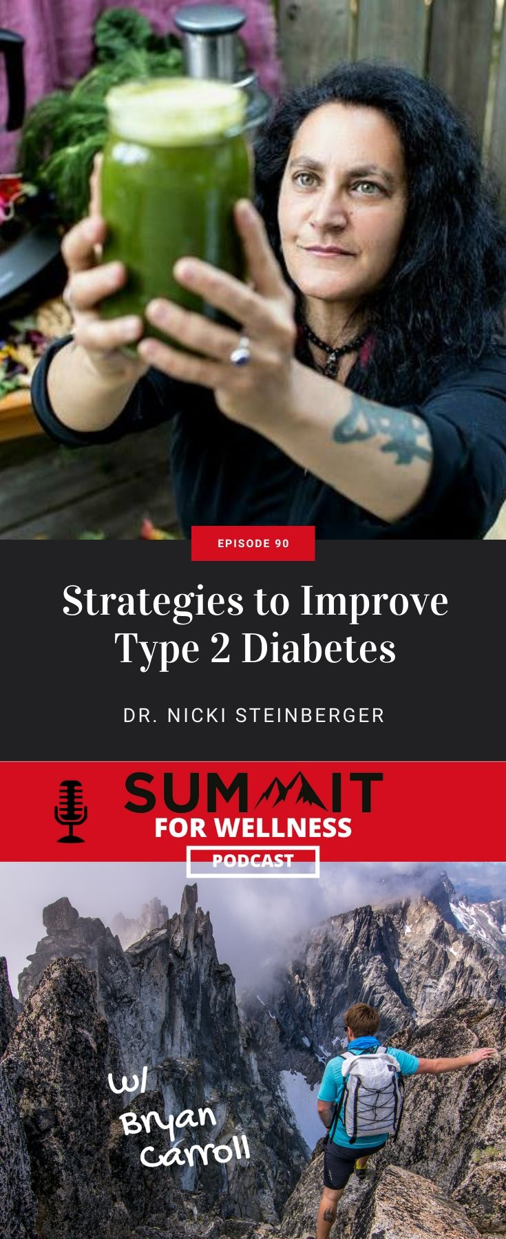 Dr. Nicki Steinberger teaches us how to reverse Type 2 Diabetes naturally