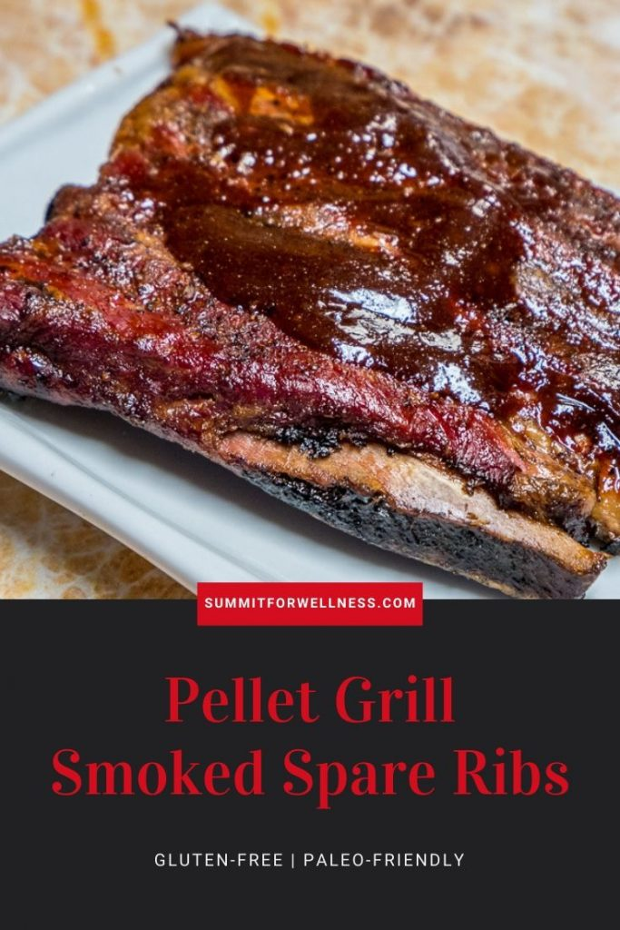 Learn how to make smoked spare ribs using your pellet grill