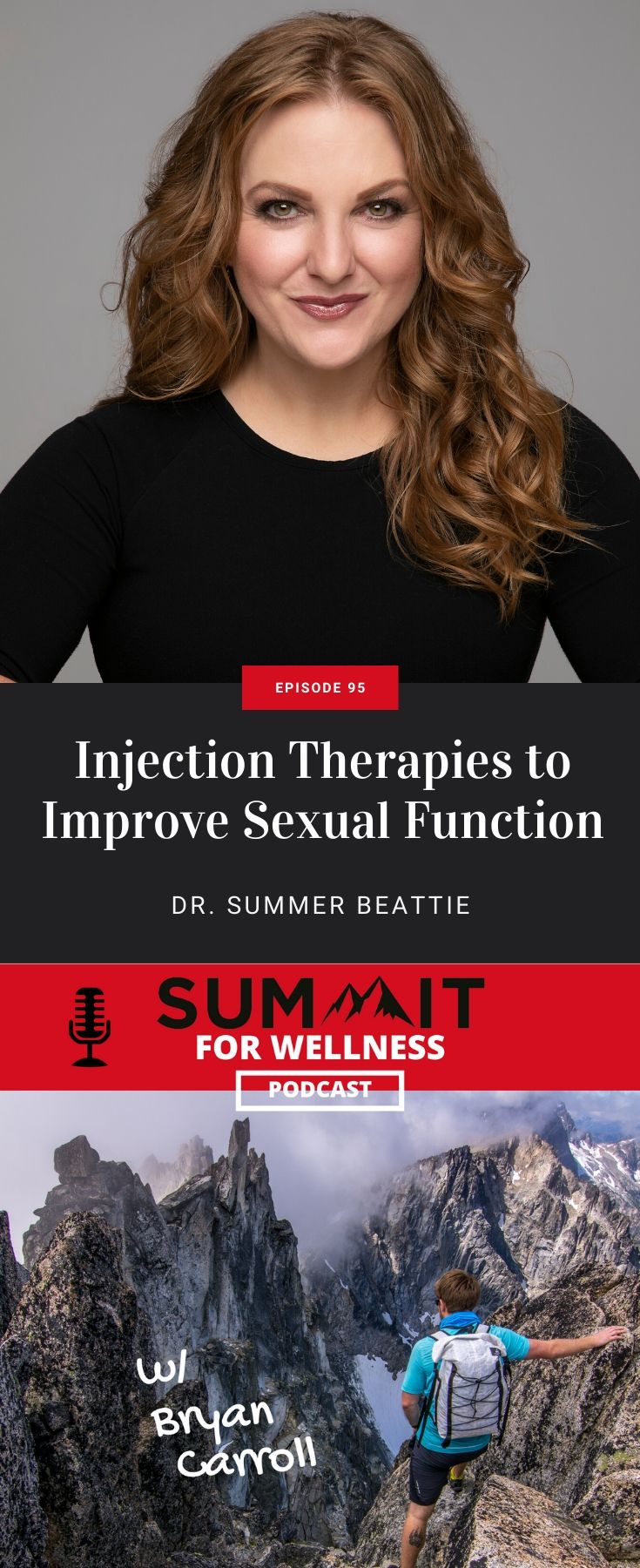 Dr. Summer Beattie teaches how to use injection therapies like PRP to improve sexual function