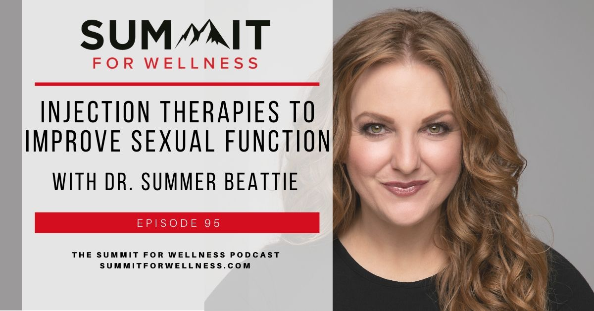 95- Injection Therapies to Improve Sexual Function With Dr. Summer Beattie