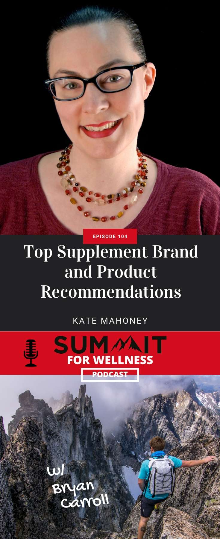 Learn from Kate Mahoney about the best supplements brands and products