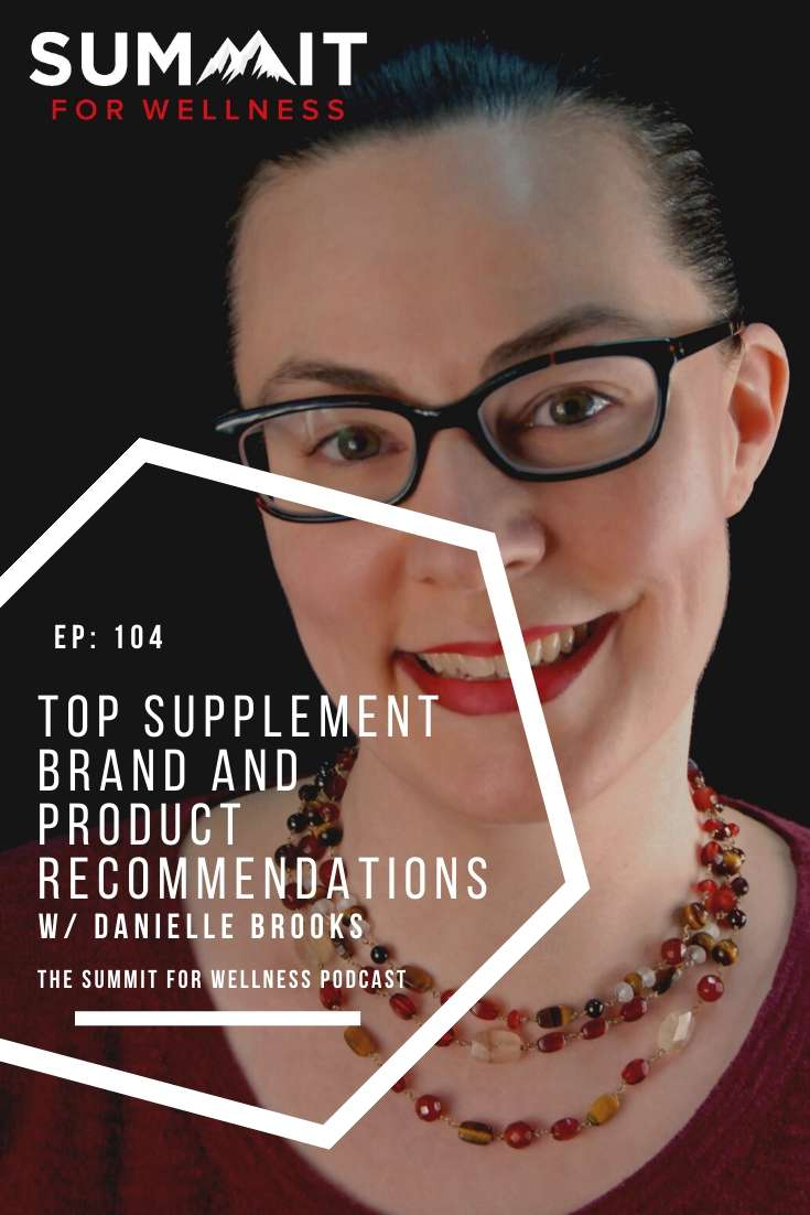 104- Kate Mahoney's Top Supplement Brand and Product Recommendations Pin1