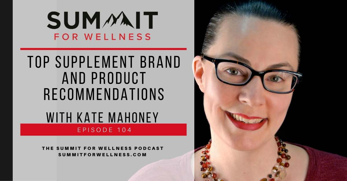 Kate Mahoney teaches us about what constitutes a quality supplement brand or product