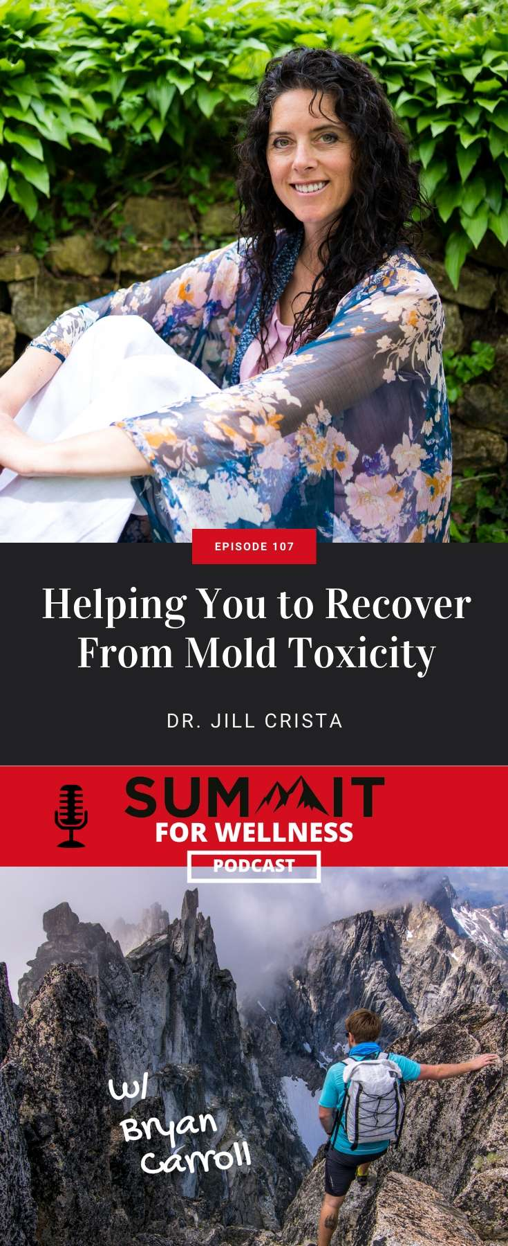 Dr. Jill Crista walks us through steps to recover from mold toxicity