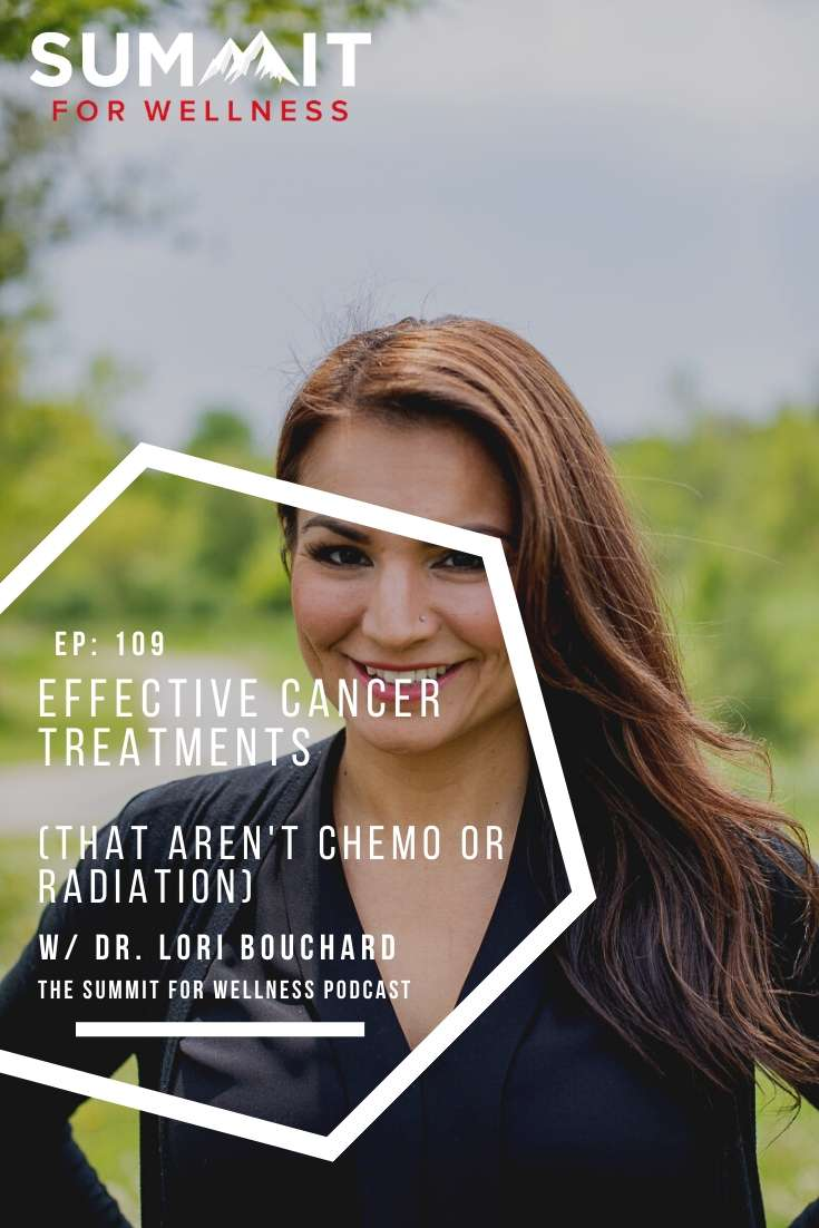 Dr. Lori Bouchard teaches us some methods for cancer treatment that don't include chemo or radiation