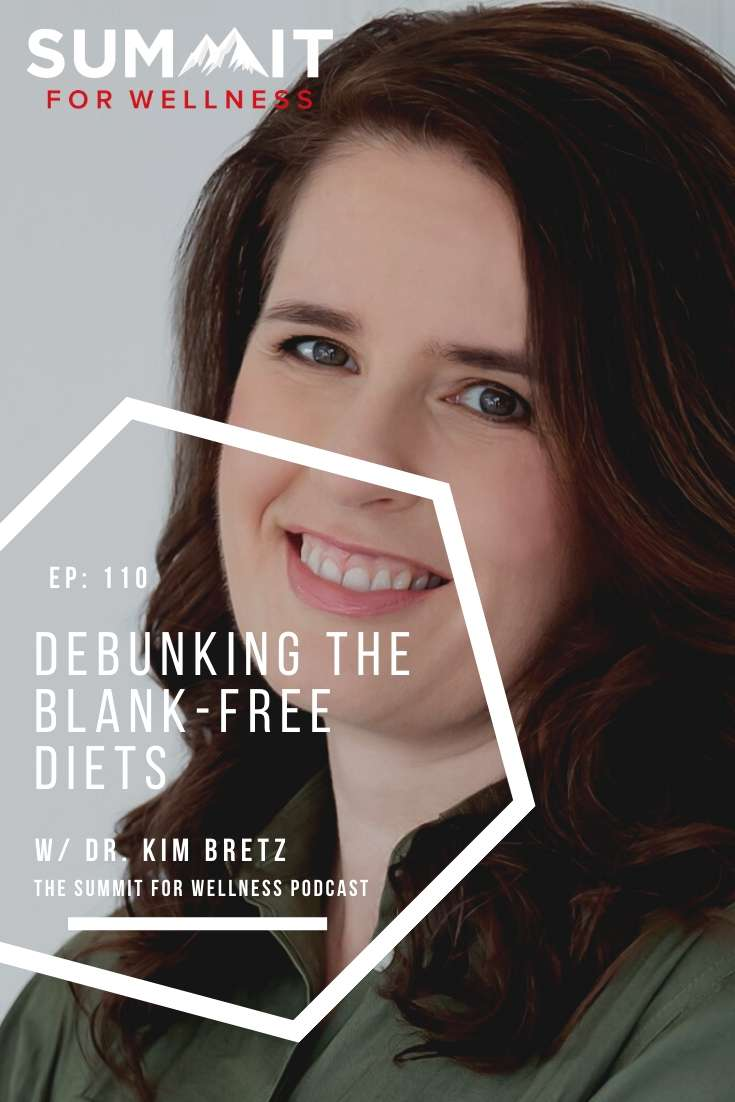Dr. Kim Bretz helps us understand some issues that can pop up if you limit your food intake to certain diets
